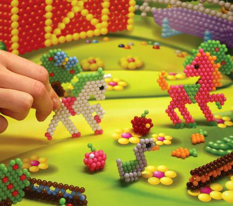 The award-winning craft toy Bindeez, created by Melbourne company Moose.