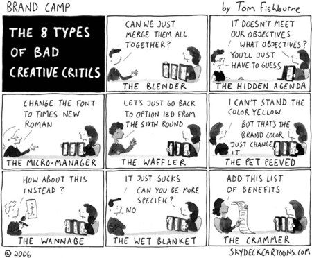 8 types of bad critics